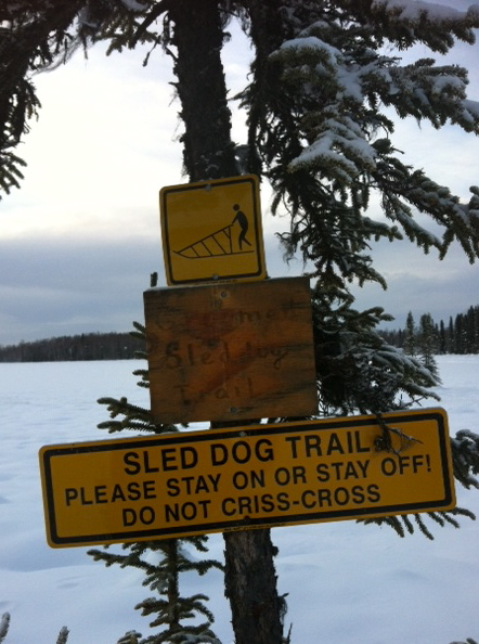 sled signs