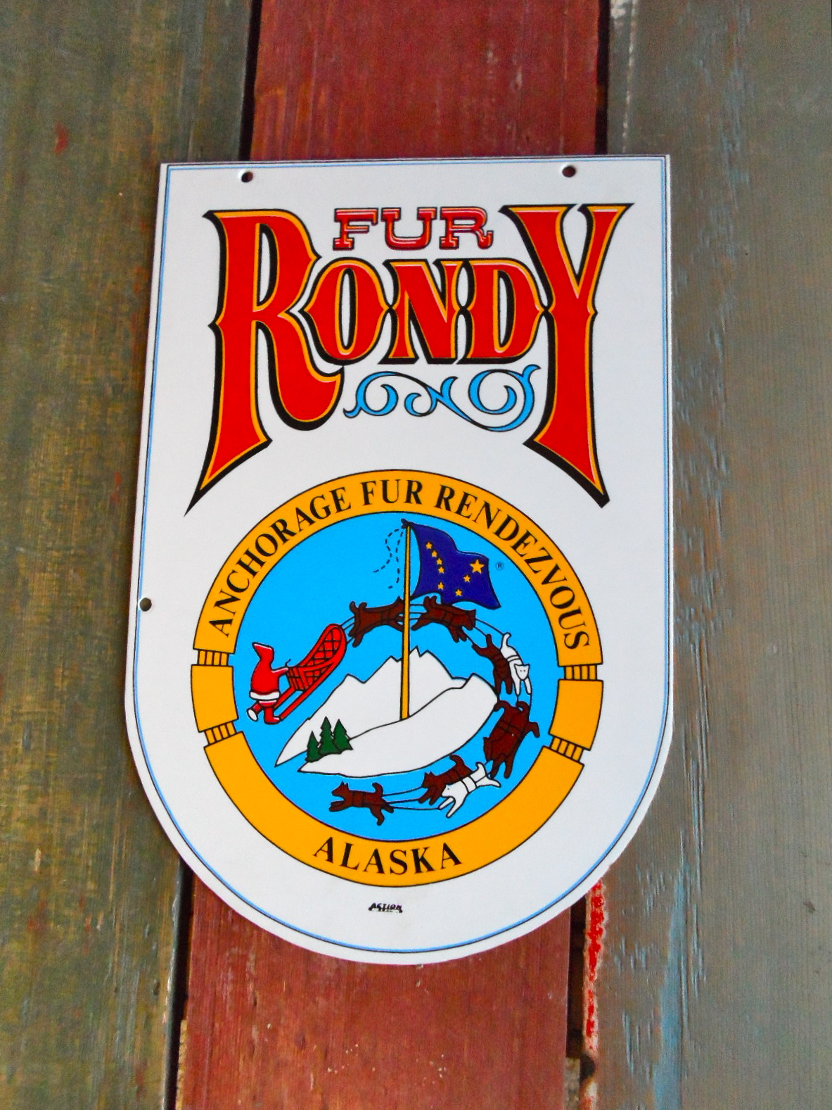 fur rondy sign