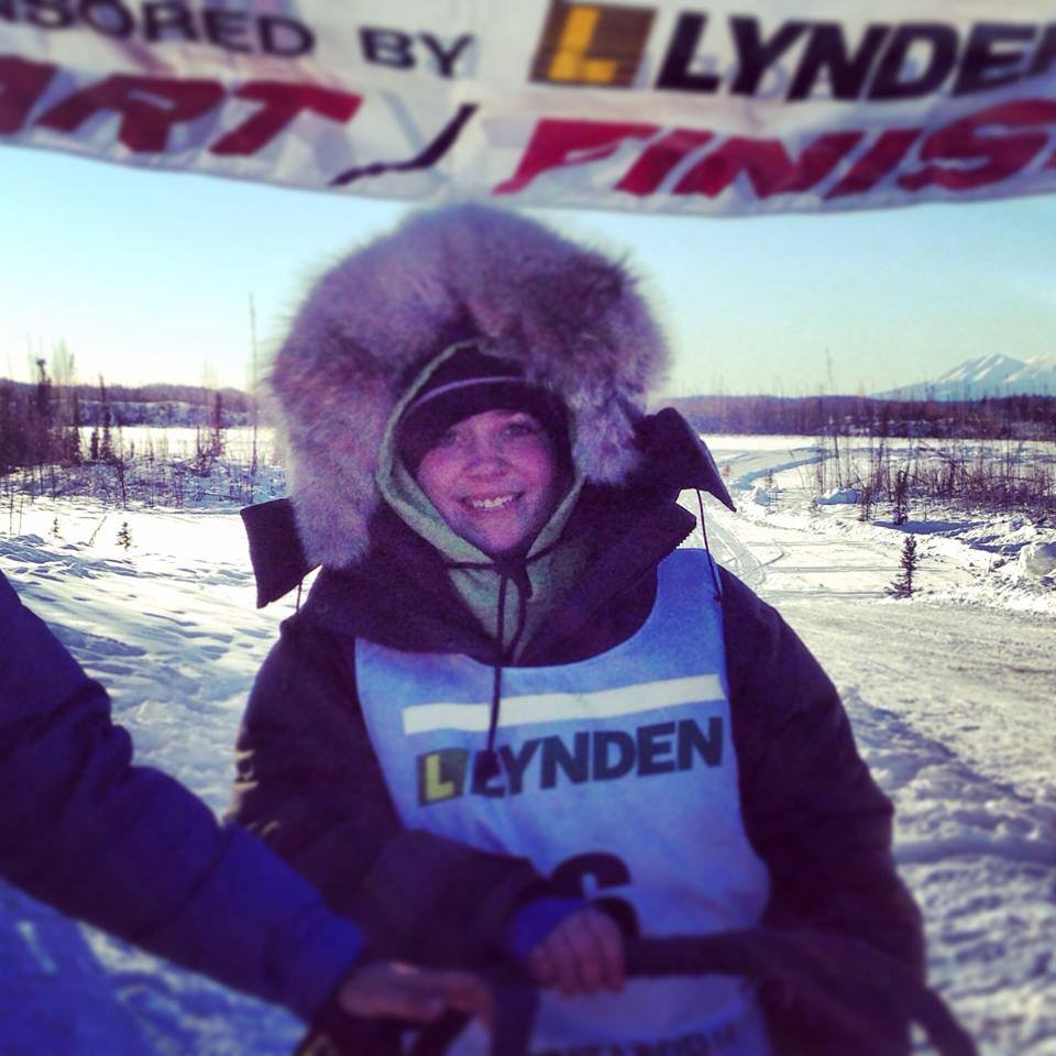 nicole forto junior iditarod finish